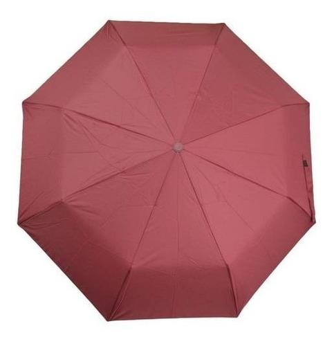 Paraguas Sombrilla Doble Automática Unisex Le Sak - Vino