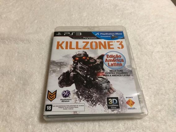 Killzone 3 - Edição America Latina Comp. Com 3d E Move