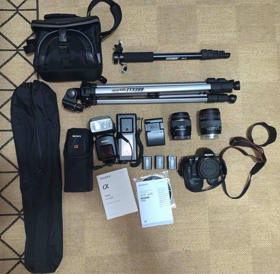 Sony Alpha 33 Kit Camera Fotografica Profissional