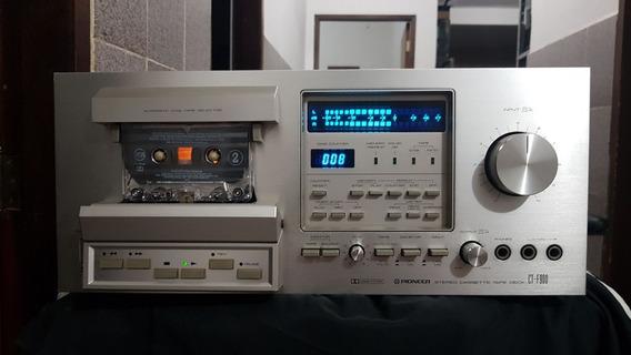 Tape Pioneer Ct-f900 Funcionando E Super Conservado