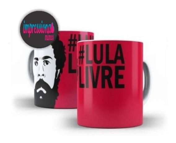 Caneca De Porcelana Lula Livre - Mega Oferta!!!