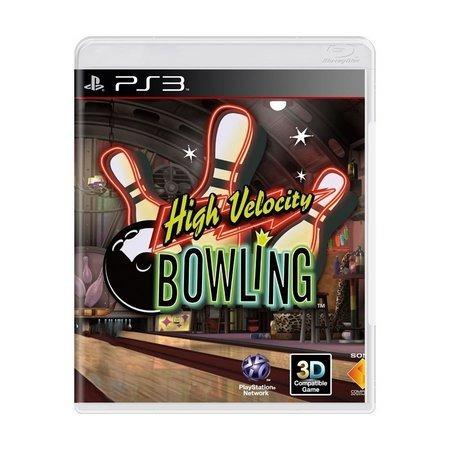 High Velocity Bowling Ps3 | Mídia Física Original