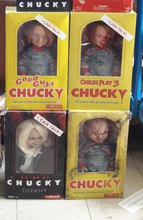 Vendo Lote De Figuras Chucky Mezco Todos Juntos