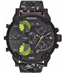 Relógio Pa2332 Diesel Dz7311 Mr. Daddy 2.0 Camuflado + Caixa