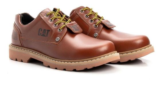 Promoção Sapatos Caterpillar Couro Nobre Frete Grátis Rápido
