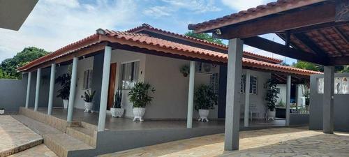 Imagem 1 de 13 de Casa Cháraca Elias Fausto  Bela Vista Com Piscina Edícula