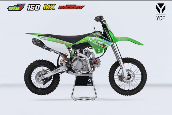 Moto Ycf Bigy 150 Mx Factory Std 2019 12 Meses Sin Intereses