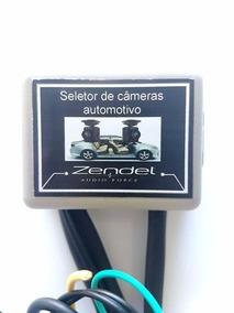Seletor De Câmeras Automotivo Dianteiro E Traseiro Zendel