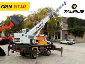 Grúa 10 Toneladas Taurus Agricola Maquinaria Construccion