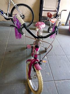 Bicicleta De Niña Bmx Futura Rodado 16