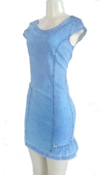 Vestido Jeans Com Elastano Moda Evangélica Roupas Femininas