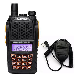 Rádio Comunicador Dual Band Uhf Vhf Baofeng Uv6r E Mini Ptt