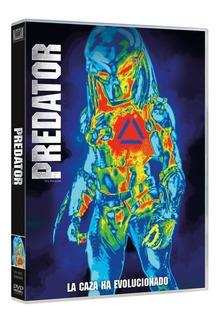 El Depredador The Predator Dvd Original Nuevo Cerrado Stock