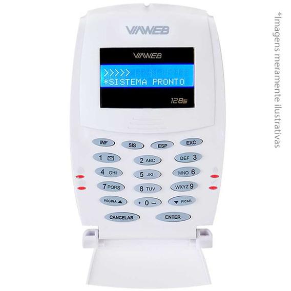 Teclado Viaweb Lcd 128s