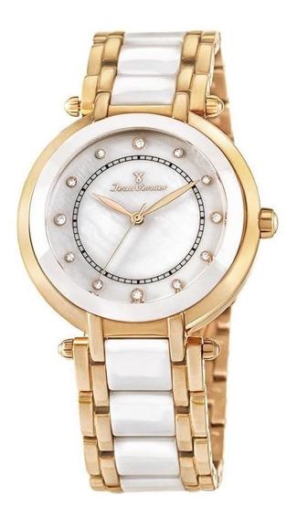 Relógio Jean Vernier Feminino Ref: Jv1004 Fashion Rosé