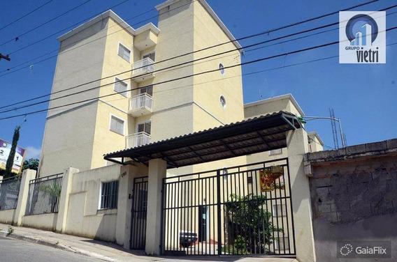 Apartamento Novo Em Ferraz De Vasconcelos Vila Cristina Com 2 Dormitórios, Sala, Cozinha, 1 Vaga Aceita Financiamento - Ap2799