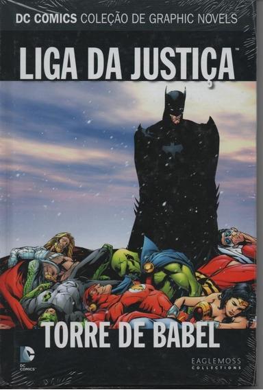 Encadernado Dc Liga Da Justiça Torre De Babel Graphic Novel