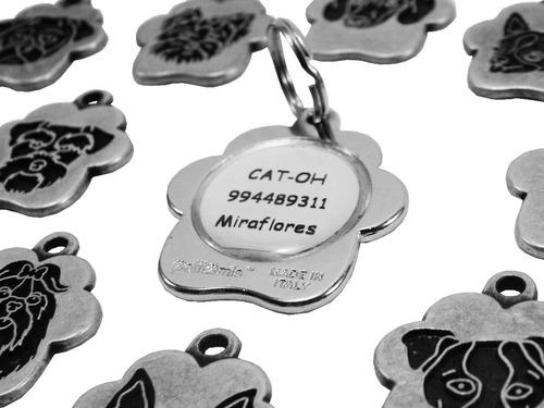 0be4dcc79b3c Placas Para Perros Con Grabado - Hecho En Italia - Vintage