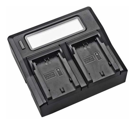 Carregador Duplo Bateria Sony Np-fz100 Para A7 Iii (3)