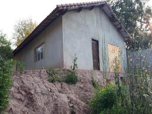 Cod 3768 -  Casa Semi Acabada Em Rua Muito Tranquila. - 3768