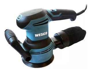 Lixadeira Roto-orbital 400w Wesco Ws4265 127v/220v C/ Controle Velocidade Original + Nf