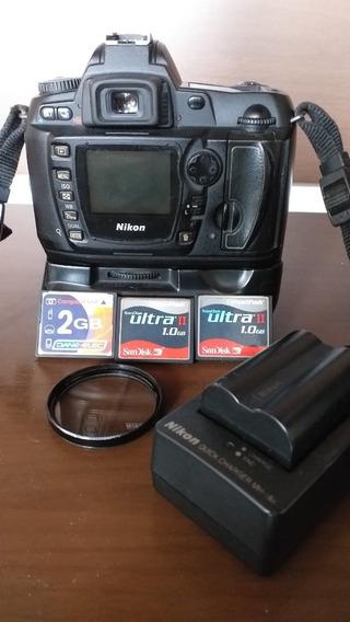 Câmera Nikon D70s Com Lente 18 X 55 Mm .