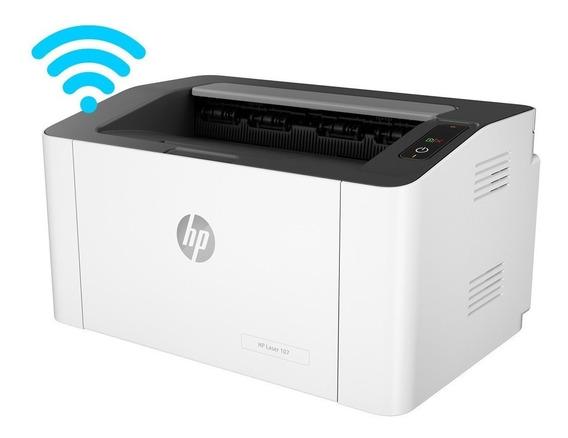 Impresora Hp Laser 107w Nueva Con Garantia Tienda Fisica