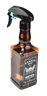Atomizador 500 Ml Barbero Tipo Botella Whiskey