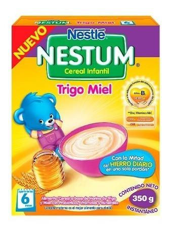 Nestle Nestum Trigo Miel Cereal Infantil Caja X 350 Gr