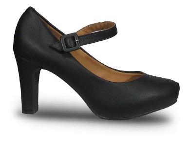 Vizzano 184010 Zapato Clásico Taco Alto Pulsera Mujer