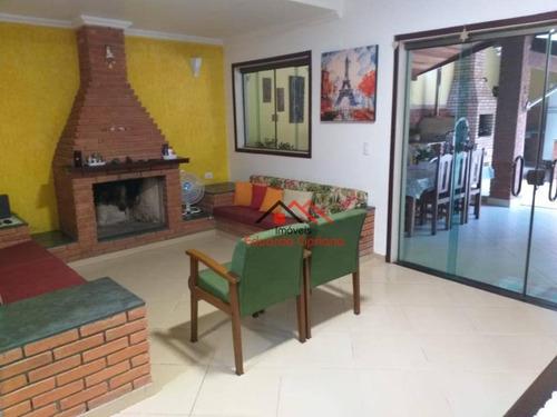 Imagem 1 de 30 de Casa Com 4 Dormitórios À Venda, 270 M² Por R$ 970.000,00 - Park Imperial - Caraguatatuba/sp - Ca0559