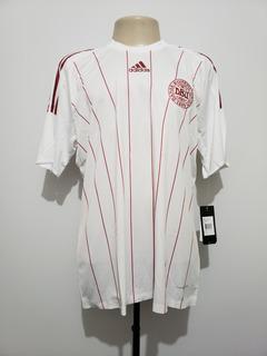 Camisa Futebol Oficial Seleção Dinamarca 2008 Away adidas Gg