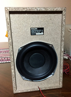 Subwoofer Philips 5,25 8 Ohm 20w Rms Mcd1165