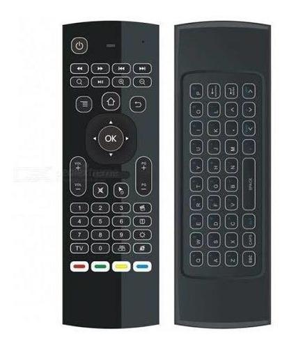 Controle Teclado Air Mouse Pc Sem Fio Usb Wireless Smart Tv