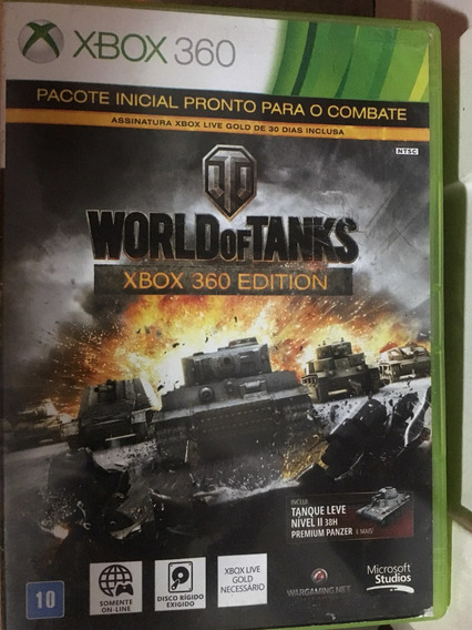 World Of Tanks Xbox 360 Edition Pronta Entrega Frete Gratis