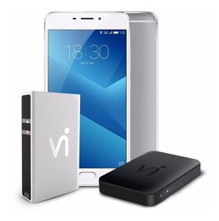 Phonestation Meizu M5 Note Prata, 3gb + 32gb
