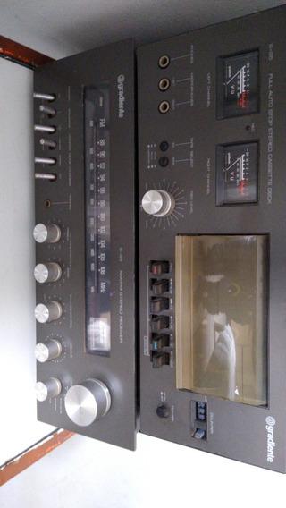 Som Gradiente Receiver Am/fm S 95 Full Auto Stop Stereo S95