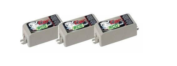 Kit 3 Controle Remoto Tx Car Rcg 433,92mhz Para Portão Farol