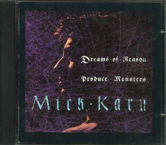 Cd Mick Karn Dreams Of Reason Produce Monsters Import. U.k