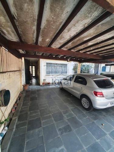 Sobrado, 143 M² - Venda Por R$ 420.000,00 Ou Aluguel Por R$ 2.300,00/mês - Parque Jabaquara - São Paulo/sp - So0354