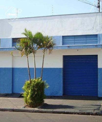 Salão Para Alugar, 80 M² Por R$ 1.500,00/mês - Campos Elíseos - Ribeirão Preto/sp - Sl0237