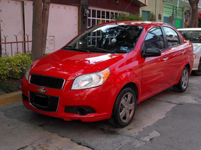 Chevrolet Aveo Lt 2012 5 Vel. Nuevo Factura Original 1 Dueño