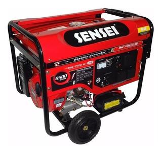 Generador Eléctrico Sensei Mge-7500 A/e Avr