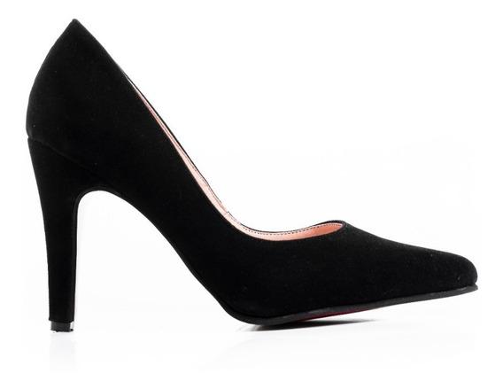 Zapatos Mujer Dama Stiletto Luis Xv Charol Fiesta Comodos