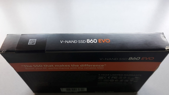 Disco Ssd Samsung 860 Evo 500gb V-nand Ssd Sellado