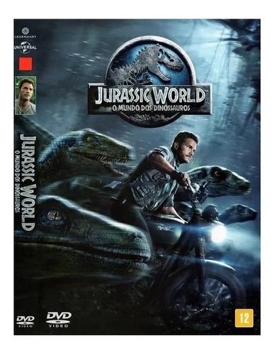 Dvd Jurassic World O Mundo Dos Dinossauros