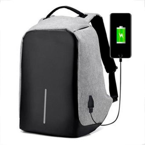 Mochila Antirrobo Smart Carga Usb Notebook Tablet Celular !!