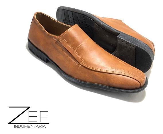 Zapato De Vestir De Hombre Con Elastico Simil Cuero