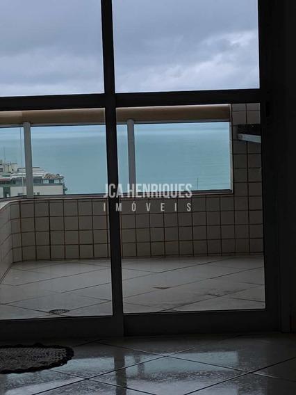 Apartamento 1 Dormitório Com Vista De Frente Mar . - V782
