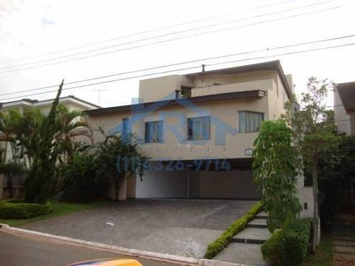Imagem 1 de 16 de Sobrado Com 4 Dormitórios À Venda, 649 M² Por R$ 2.150.000 - Condomínio Melville (tamboré) - Santana De Parnaíba/sp - So0937